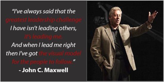 Leading Me - John C Maxwell